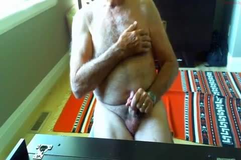 thick Dicked daddy wanking 003
