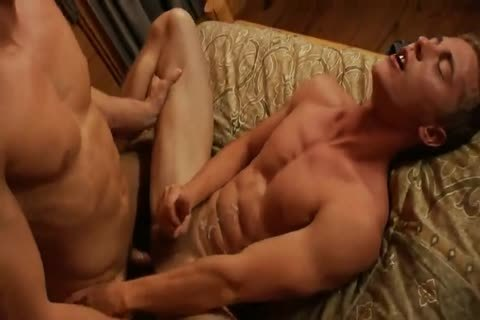 blonde Hunk pound In Cabin