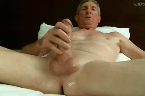 large Dicked daddy wanking 032