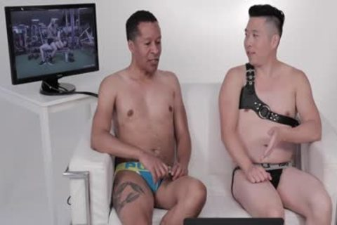 Two men In Jockstraps Watch Sexercise Porn clip Starring Sir Jet   Atlas