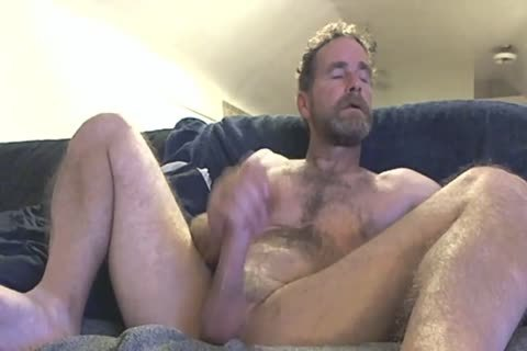 daddy Fingering His cock In Front Of The Camera