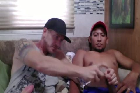 Straight Latino Construction Worker gets First handjob From A dude (Martin two)