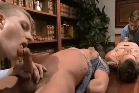(Edging) two guys get tied Up And Teased