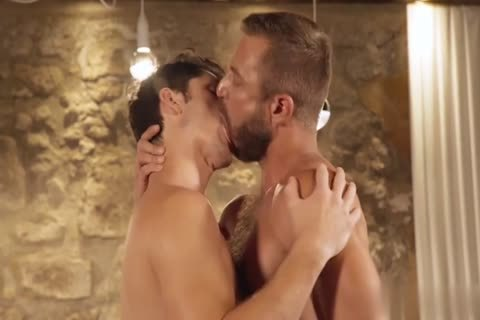 GayRoom - Dylan Knight banged By A Plunger And Peter Fields humongous penis