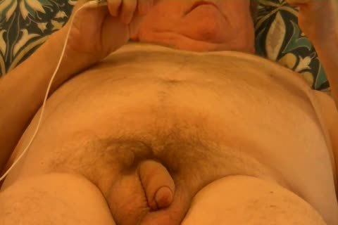 Sounding With 10-Pounder And Stroking To orgasm