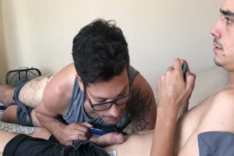 I unfathomable Throated A Gamer And Swallowed his sperm
