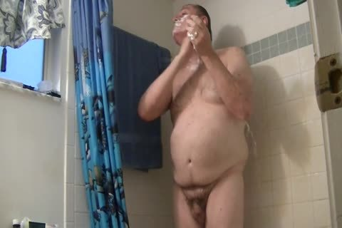 Exercise, Shower, Dildos, Shaving, Stroking, Prepuce, penis