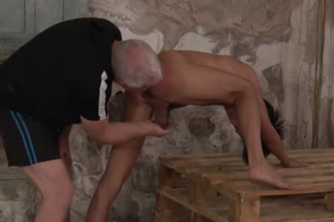 young Hawaiian man undressed And Spanked
