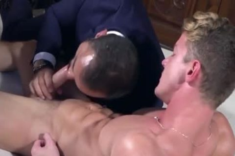 Muscle gays ass fuck And ball cream flow