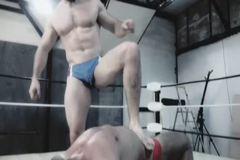 Wrestlemale 24 Paris coarse abode War beast VS Butch