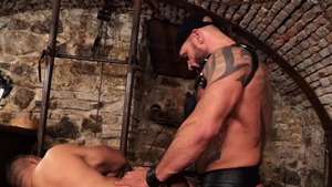 nasty Muscle Sub - Bruno Turbo arse Licking Hook up