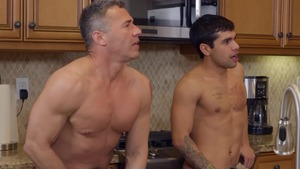 Three-Timing Stepdad: unprotected - Ty Mitchell and Dean Phoenix American poke