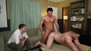 Dr. Wood - Collin Simpson with Michael Boston 18 Sex