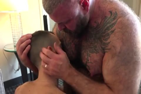 Daddy With subrigid Suckable teats plow A young man