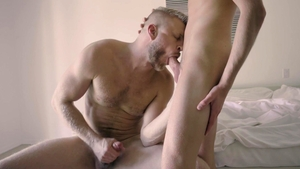 Family Dick - Logan Stevens escorted by Lukas Stone stroking