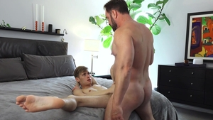 FamilyDick: Oliver Star crazy moaning sex tape