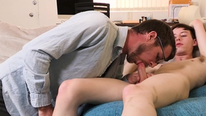 Family Dick - Young and beautiful Billy Saint blowjob