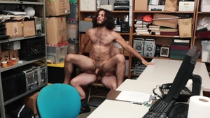YoungPerps - Hard ramming with long haired furry Dante Drackis