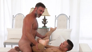 MissionaryBoys - Supermodel Elder Land gentle sensual kissing