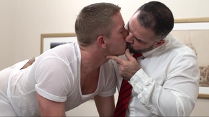 MissionaryBoys - Thick Elder Kimball pounding wearing panties