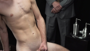 MissionaryBoys.com: Long hair black cock Elder Esplin 3some