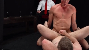 MissionaryBoys - Athletic Elder Kimball helps with stroking
