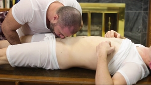 MissionaryBoys - Undressing plus young student Elder Foster