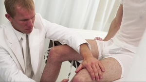 MissionaryBoys: Blond haired Elder Ricci first time moaning