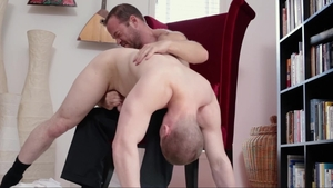Missionary Boys: Elder Isaacs touching big cock