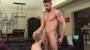 FamilyDick.com: Hunk Johnny Ford plus Jace Madden threesome