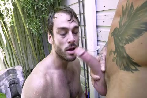 Dylan James Uses A pound Machine On Max Adonis