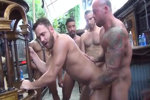 MusclePup Logan Moore Acquires bunch banged Barebacked pound