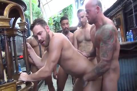 MusclePup Logan Moore acquires bunch banged Barebacked bang