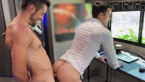 DrillMyHole.com: Ramming hard with Nic Sahara & Dante Colle