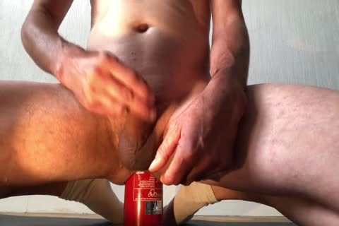 bewitching Insertion extreme Bottle ass With cumshot