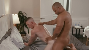 Noir Male: Nailed rough with muscle Jason Vario and Nick Fitt