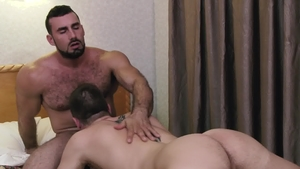 Icon Male: DILF Jd Phoenix with Jaxton Wheeler blowjob cum