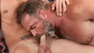 Icon Male - Muscled nice big dick Danny Gunn masturbating