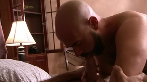 IconMale: DILF Damon Andros anal scene HD