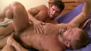 Icon Male - DILF Dirk Caber wishes slamming hard in HD