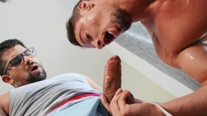 Drill My Hole - Muscled Skyy Knox has big cock