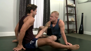 Extra Big Dicks: Cock sucking with Dylan Drive & Leo Luckett