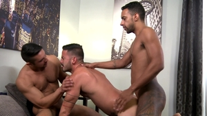 ExtraBigDicks - Hairy Cesar Rossi helps with hard nailining