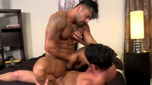 MenOver30.com - Nice big dick Bruno Bernal facial