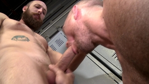 MenOver30.com: Gay John Magnum being fucked by Dustin Steele