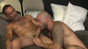 Men Over 30 - Gay Julian Torres being pounded by Joe Parker