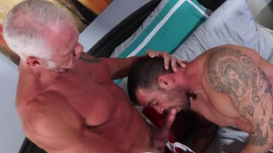 MenOver30 - Brunette Dallas Steele pounded by big dick daddy