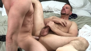 DylanLucas: Jack Hunter in company with brunette Park Wiley