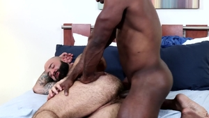 PrideStudios - Gay Alessio Vega wearing uniform kissing