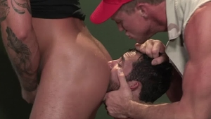 RagingStallion.com: Latino Bruno Bernal masturbation